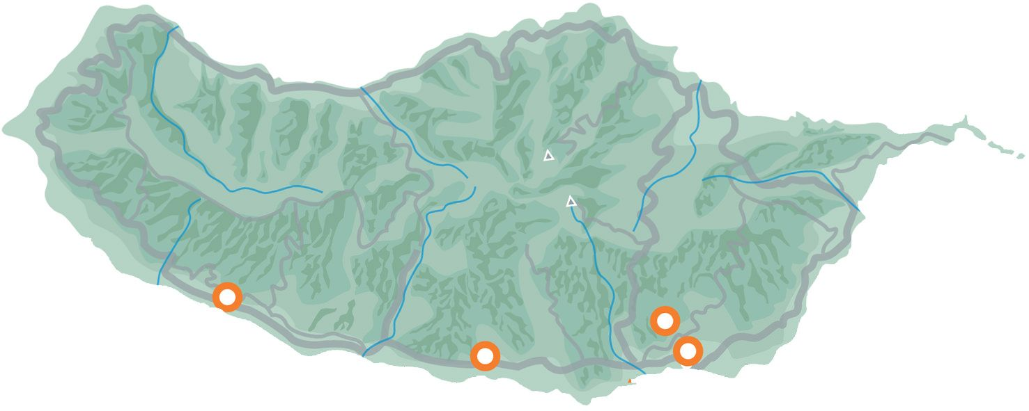 Sugar Cane Tour Map
