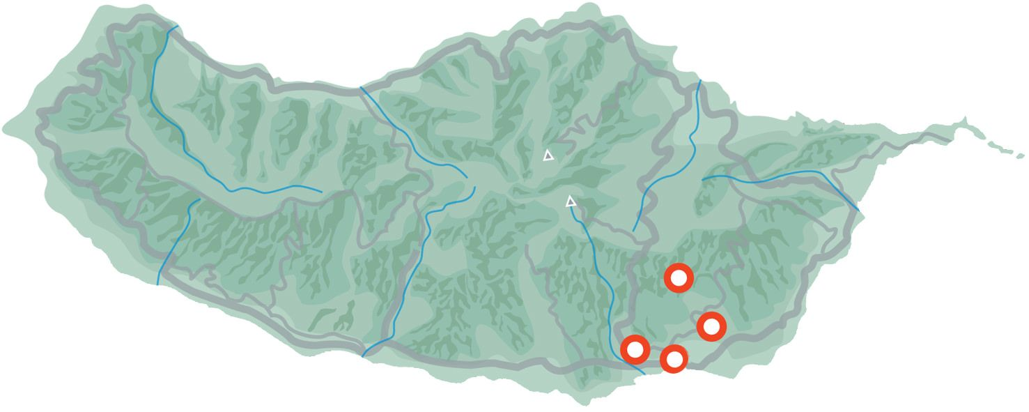 Madeira Gardens Tour Map